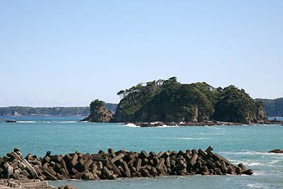 海岸線の景色