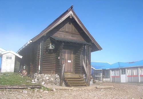頂上の山小屋